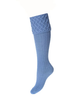 Chaussettes Lady RANNOCH bluebell