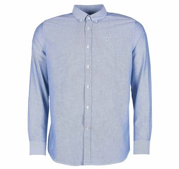 Oxford 3 tailored sky shirt