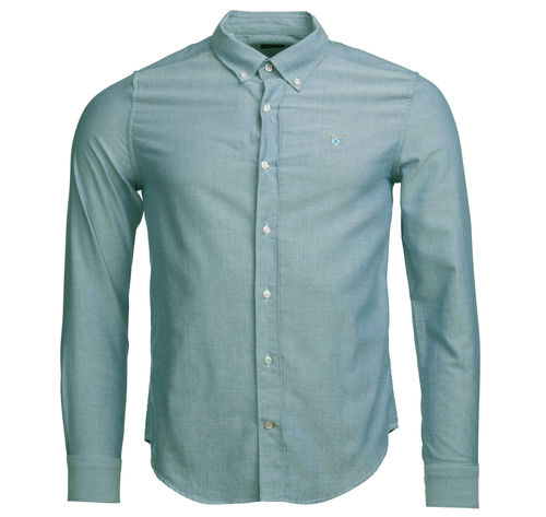Chemise oxford 3 tailored green