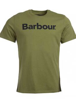 T-shirt logo burnt olive