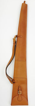 Nat oak leather shotgun slip