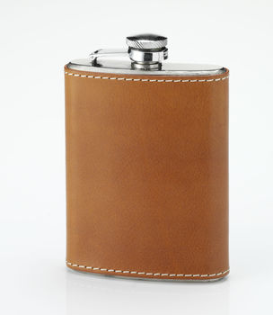 Nat oak pocket flask