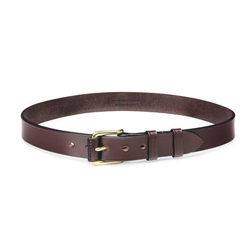 Mocca leather belt