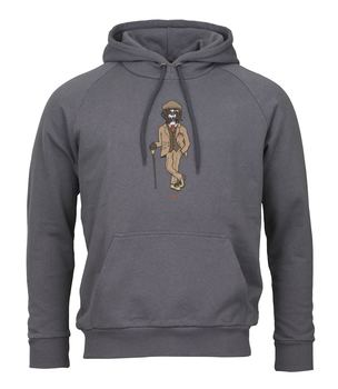 Hoodie sweat rough german steel