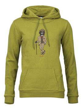 Sweat capuche femme rough german moss