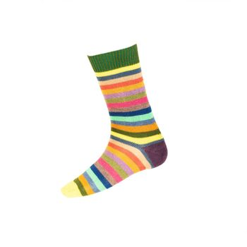 Chaussettes STRIPY  ivy green