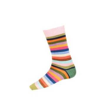 Chaussettes STRIPY rosewater