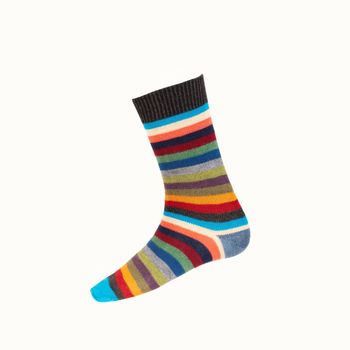 Chaussettes STRIPY charcoal