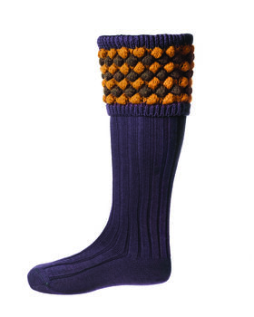 Chaussettes ANGUS thistle + garters