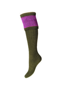Chaussettes Lady TAYSIDE dark olive