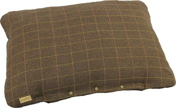 Tweed dog brown cushion 3 size