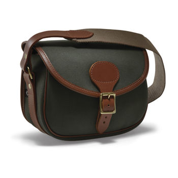 Rosedale canvas leather cartridge bag