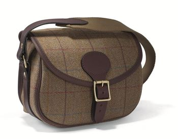 Hemsley tweed cartridge bag