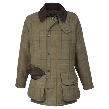 Rutland dark moss coat