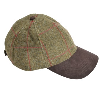 Casquette tweed Compton Baseball SAGE
