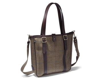 Hemsley tweed tote bag