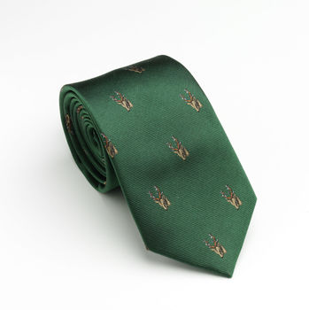 Trophy Deer tie 2 colors