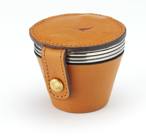 Leather cup