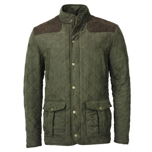 Hampton green quilt jacket