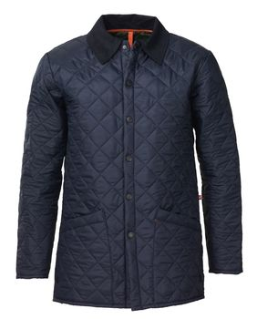 Goodrich navy quilt jacket
