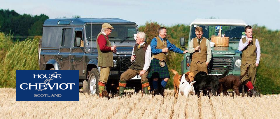 Hunting socks house of cheviot Tweedchasse