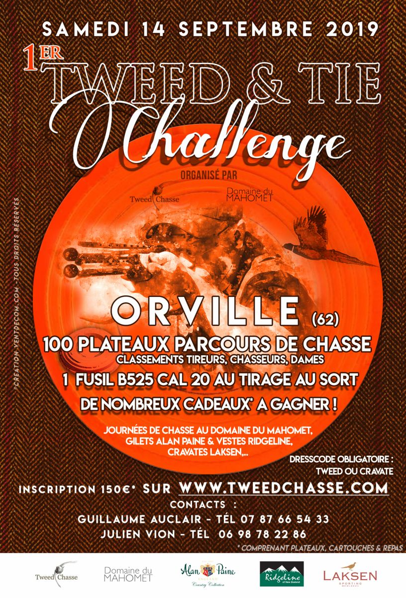 Tweed and tie challenge ball trap domaine du mahomet tweedchasse
