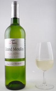 Château Grand Moulin - La tour blanc  2012