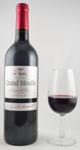 Château Grand Moulin - La tour rouge - 2012