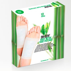 10 Patchs Detox Dr Gem