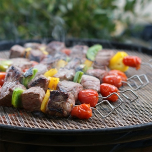 Grille barbecue ronde - Grille barbecue decoupable ...
