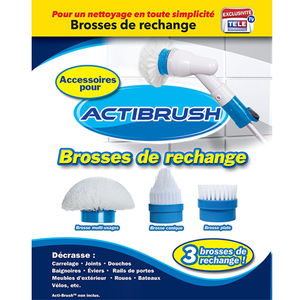 Lot de 3 brosses Actibrush