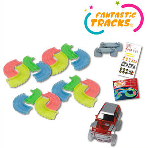 Fantastic Tracks 162 pcs - Circuit Flexible et Lumineux