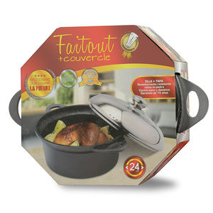 Kitchen Pro - Faitout en pierre 24cm