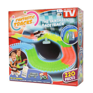 Fantastic Tracks 220 pcs - Circuit Flexible et Lumineux