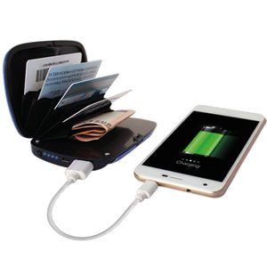 Porte-cartes et chargeur Power Shell