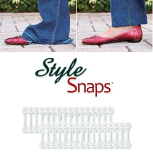 Style Snaps - Ourler avec Bouton-Pression
