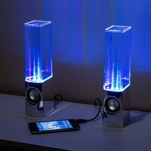 Enceinte Fontaine Led