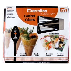 Coffret cônes gourmands Marmiton