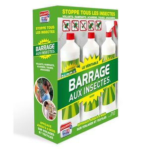 Lot de 3 Barrages aux insectes W2000