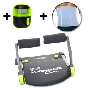 Pack Wondercore Smart + Ceinture de sudation + Podomètre