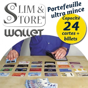 Portefeuille Slim & Store Wallet