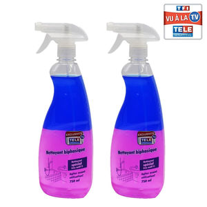 Lot de 2 Nettoyants Biphases multi-usages 750ml