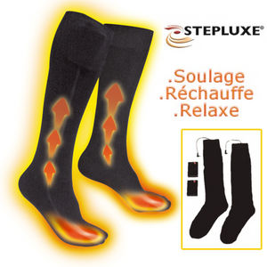 Chaussettes Stepluxe chauffantes