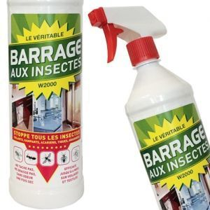 Lot Barrages aux insectes W2000