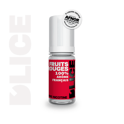 E-LIQUIDE D'LICE FRUITS ROUGES, 10 ml