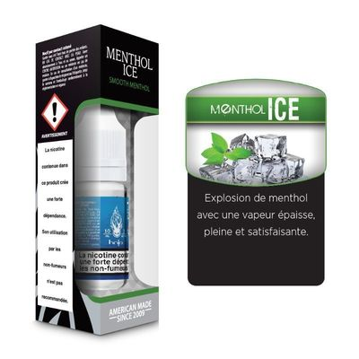 E-liquide Halo Menthol Ice, 10 ml