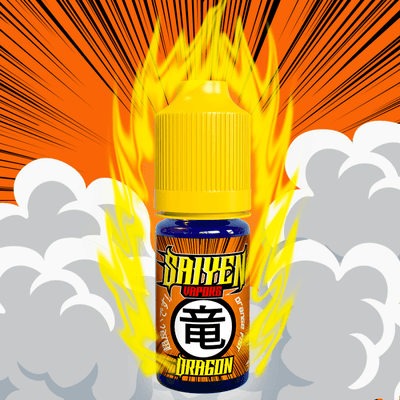 E-liquide Saiyen Vapors Dragon, 10 ml