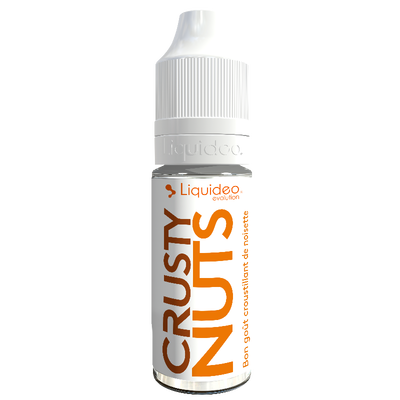 E-liquide Liquideo  Crusty Nuts, 10 ml