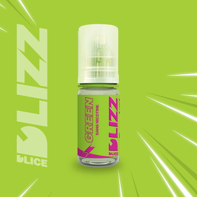 E-LIQUIDE D'LICE DLIZZ Green, 10 ml