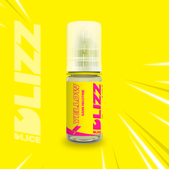 E-LIQUIDE D'LICE DLIZZ YELLOW, 10 ml